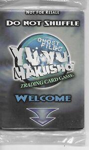 YUYU HAKUSHO Ghost Files TCG Promo pack Sealed !