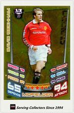 2012-13 Match Attax Legend Foil Card #482 David Beckham (Man Utd)