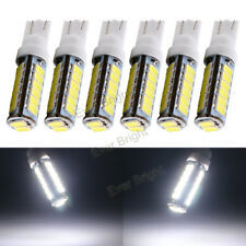 6Pcs 12V White T10 W5W 194 168 5630 20 SMD LED Bulb Auto Car Interior Light Bulb