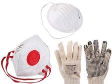Protection Vêtements Peintre Set 7-tlg Gants Poussière de Respiration Masque