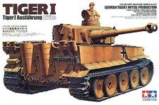 Pz. Kpfw VI Ausf. e Tiger I inicial Prod. (Wehrmacht/Afrika Korps MKGS) 1/35 Tamiya