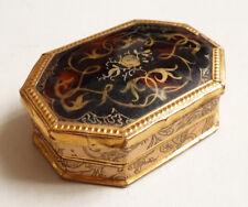 Ancienne Petite boite  en carton début du 19e siècle 19th century box