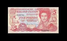 2005 FALKLAND ISLANDS FIVE POUNDS QEII **Consecutive 1 of 2** (( GEM UNC ))