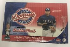 2001 Donruss Class of 2001 Factory Sealed Baseball Hobby Box