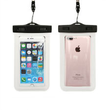 Waterproof Touch Screen Case Underwater 100 Dry Bag Cover Universal for iPhone White