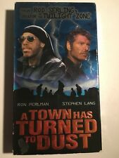 A Town Has Turned To Dust VHS Tested Ron Perlman Stephen Lang