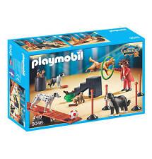 PLAYMOBIL 9048  RARE CIRCUS RONCALLI DOG DRESSAGE   NEW / SEALED