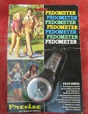 Vintage Precise International Pedometer, New in Package