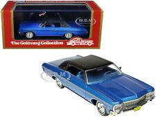 1970 CHEVROLET IMPALA CUSTOM COUPE BLUE 1/43 MODEL GOLDVARG COLLECTION GC-029 B