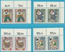 kompl.ausgabe west Postfrisch 1988 Wohlfahrt 818-821 Berlin