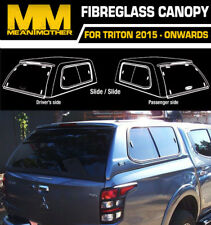 Fibreglass Canopy For Mitsubish Triton SLIDE/SLIDE 2015-ON MQ Triton Dual Cab