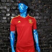Spain Team Jersey Home football shirt 2012 - 2013 Red Adidas X10937 Mens Size M