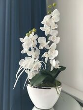 Artificial Tabel Flower Orchid Arrangement - Handmade