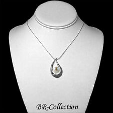 Sterling Silver Pendant with a Natural White Pearl