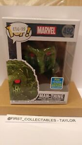 Funko Pop! Marvel Man-Thing #492 - SDCC Summer Convention 2019 🏞️