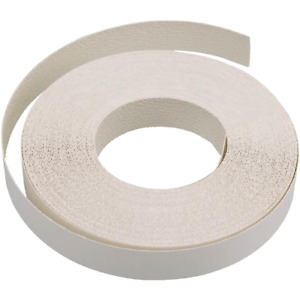 22mm White Paintable Iron On Edging Tape / Banding, Shelving Edge, Home DIY