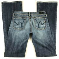 Citizens of Humanity Women (25) Ingrid #002 Low Waist Flare Jeans Distressed COH