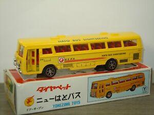 Mitsubishi Fuso Hato Bus - Diapet Yonezawa Toys Japan in Box *43346