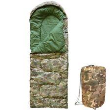 Enfants Camouflage Sac de couchage + Compression Sack Garçons Armée Literie Cadet BTP Camouflage