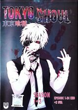 ANIME UK TOKYO GHOUL Season 1-2 Full TV Series + 2 OVA DVD (Dual Audio) (BK0132)