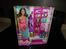 NEW BARBIE DOLL ANSWER-2014 MATTEL INCLUDES SHOES,PURSES AND JEWELRY!!!! AGES 3+