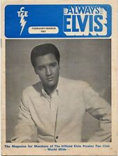 Elvis Presley Fan Club Magazine Feb/Mar 1981