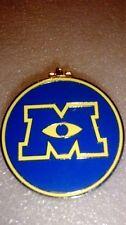 Disney Pin 96131 Monsters University Hinged Pin Mike Sully Logo
