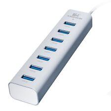 Kingwin KWZ-700 Aluminum 6-Port USB 3.0 Hub with 1 IQ Smart Charging Port