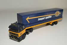 1:50 LION CAR TEKNO DAF 2800 TRUCK WITH TRAILER ASG SPEDITION EXCELLENT