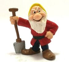 Disney Bullyland Snow White Angry Seven Dwarf Vintage Retro Figure Kid Toy
