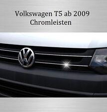 VW T5 - 3M Chrom-Leisten Kühlergrill Zierleiste Chromleiste Streben Kühlergrill