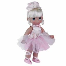 """Precious Moments Doll Ballerina Bliss Blonde 12"""" Doll Pink"""