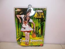 New Smiffys Zombie Alley Zombie Dorothy Halloween Costume Extra Small