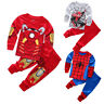 1-7 Years Kids Baby Boy Outfits Set Cotton Clothes T-shirt Tops+Pants Trousers