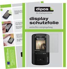 2x Philips sa4vbe04kn12 GoGear Vibe lámina protectora mate protector de pantalla Lámina