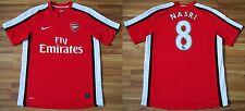 ARSENAL LONDON ENGLAND 2008/2009/2010 HOME FOOTBALL SHIRT JERSEY #8 NASRI SIZE M