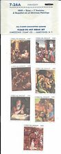 Jamestown Stamp Co. #7-26A 1969 Paraguay XMas Seven Christmas Paintings MNH