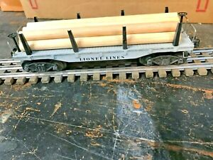 Lionel #2411 with log load