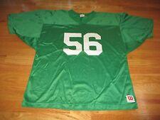 Vintage Wilson Label - No 56 (Size XXL) Football Jersey GREEN
