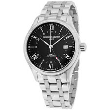 Frederique Constant Black Dial Stainless Steel Automatic Men's Watch FC350B5B6B