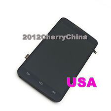 Completely LCD Display Touch Screen Digitizer For ZTE Boost MAX N9520 Frame US