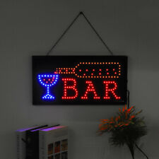 Electric Neon LED Sign Light Board Hanging Chain Shop Cafe Bar Business  _ AU