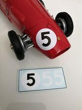 "Ferrari 500 F2 Alberto Ascari #5 Spare Decals ""British GP 1953"" 1/18 for CMC"