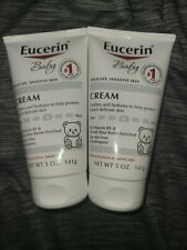 (2) Eucerin Baby Delicate Sensitive Skin Cream
