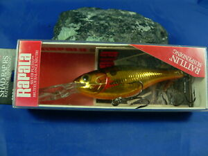 Rapala Shad Rap Ireland/Finland Spinning Trout Fishing Perch, Black Bass, Pike
