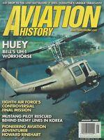 Aviation History (Jan 2003) (Bell UH-1, 8th AF Final Mission, RAAF F-51 Korea)