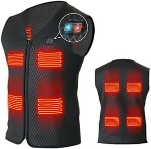 NEW! 🔥Heated Vest 2XL For Men Women w/ 8 Heating Panels-Not Include Power Bank