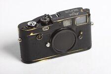 Leica M2 Black Paint Gehäuse No 937 944 Repainted lackiert