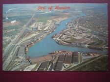 POSTCARD USA HOUSTON TEXAS NATIONS 2ND LARGEST PORT