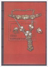 0296 Kyrgyzstan 1993 Zilveren sieraden Silver jewelry S/S Mnh